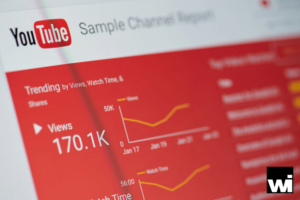 Digital marketing and social media marketing analytics for YouTube.